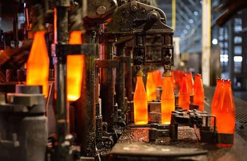 Molten glass energy savings Ultrasonic Degassing