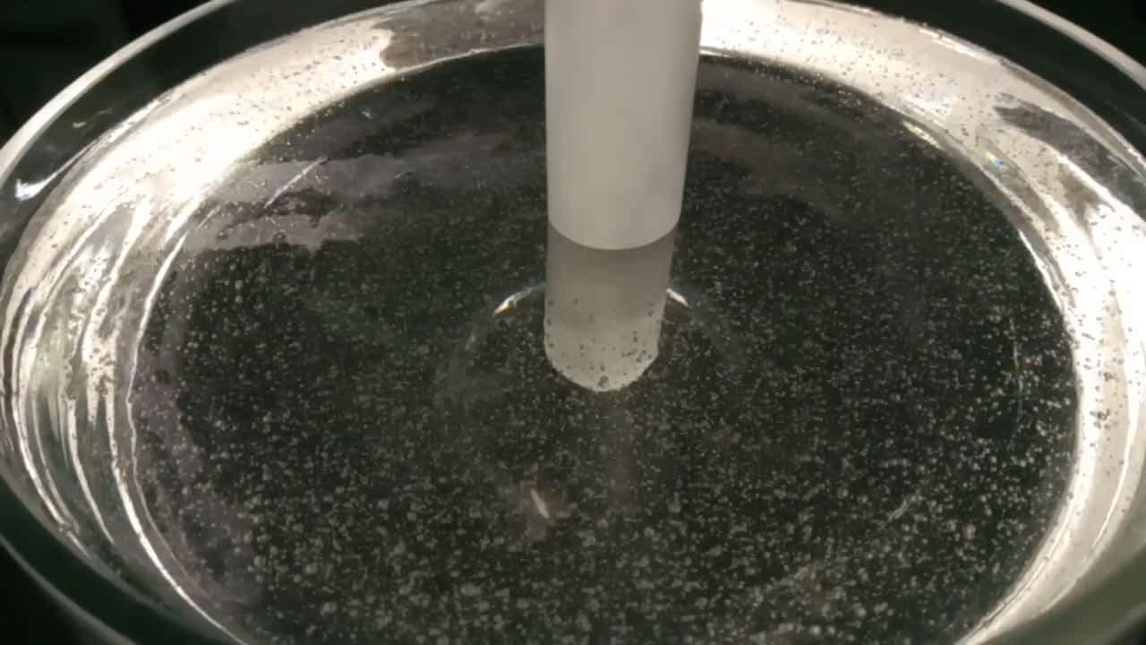 Physical modelling of ultrasonic degassing in glycerine Ultrasonic Degassing